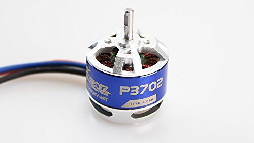 Tomcat P3702 TC-P-2808-KV1250 Brushless Outrunner 1250KV Motor for Park Fly 370 RC Model Airplanes ()