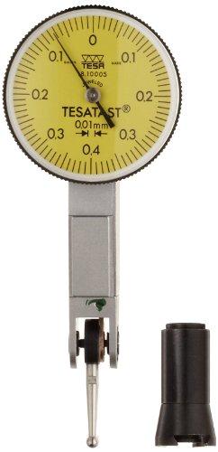 brown-sharpe-tesa-1810005-tesatast-dial-test-indicator-top-mounted-m14x03-thread-2mm-stem-dia-yellow