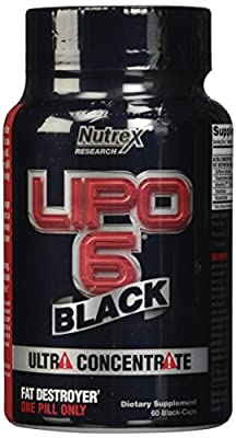 Nutrex Lipo 6 Black Ultra Concentrate 60 Capsules (DMAA Free)