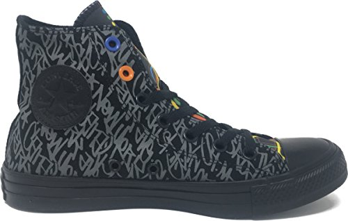 Converse Chuck Taylor All Star Bue New York Txt Sneakers Nero / Nyc Txt