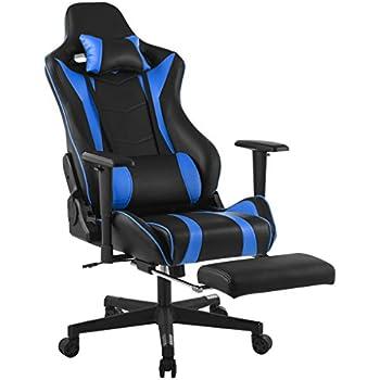 Amazoncom LANGRIA High Back Ergonomic Gaming Chair Racing