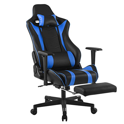 LANGRIA Executive High-Back PU Leather Computer Gaming Chair