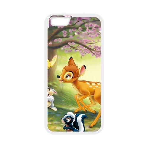 Bambi 017 coque iPhone 6 4.7 Inch cellulaire cas coque de téléphone cas blanche couverture de téléphone portable EOKXLLNCD26183