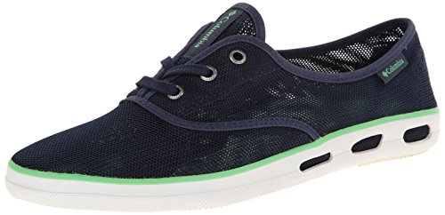 Columbia Women's Vulc N Vent Lace Mesh Shoe,Nocturnal/Chameleon Green,6 B US