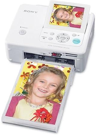 Sony FP75 - Impresora fotográfica (300 x 300 dpi, 63 s, LCD, 8,89 ...