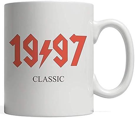 Amazon com: 1997 Classic Rock 22nd Twentieth Two Birthday Mug