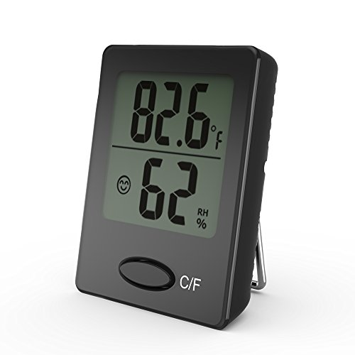 digital thermometer temperature humidity indication product image