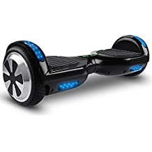 "OrionMotorTech Hoverboard UL2272 Certified, Smart Self Balancing Scooter with Bluetooth Speaker & Flash LED Indicator Lights 6.5"" Two-Wheels"
