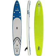 "Laird StandUp EZ Air Race Paddle, 6"" X 12'6"" X 27.50"", Ocean"