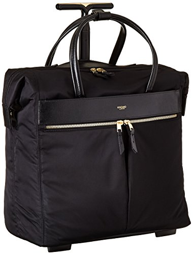 Knomo Luggage Mayfair Nylon Sedley EW Boarding Tote 15-Inch, Black, One Size
