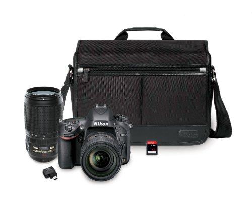 nikon-d610-243-mp-cmos-fx-format-digital-slr-camera-bundle-with-24-85mm-and-70-300mm-nikkor-vr-af-s-