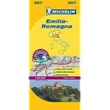 Emilia Romagna - Michelin Local Map 357 (Michelin Local Maps)