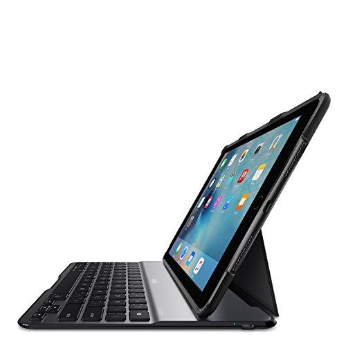 Belkin QODE Ultimate Keyboard/Cover Case for 24.6 cm (9.7'') iPad Pro, iPad Air 2 - Black by Belkin