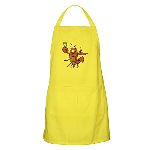 CafePress - Toasting Wine Lobster BBQ Apron - Kitchen Apron with Pockets, Grilling Apron, Baking Apron