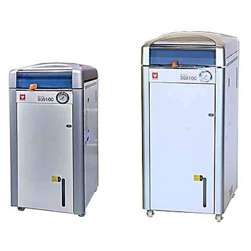 (Yamato SQ-810C Autoclave with Built-in Cooling Fan, 80 L Chamber Capacity, 100V to 120V, 10.5 amp to 12.5A)