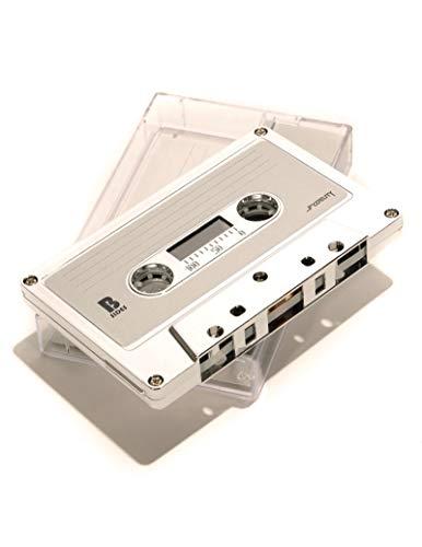IMIXID/FYDELITY Blank C-60 Normal Bias Audio Cassette Tape 60 Minutes | 10 Pack | Silver Chrome Mixed - Cassette Cartridge