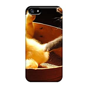 Hot New Kitten Ducklings Cases Covers For Iphone 5/5s With Perfect Design