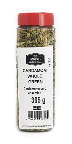 Royal Command Green Cardamom Pods (Whole) - 12.9 oz (365 g)