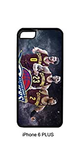 Cavs Big #2 Case Cover For Apple Iphone 4/4S Hard Case Custom Lebron James Kevin Love Kyrie Irving Cavaliers Cleveland (Black)