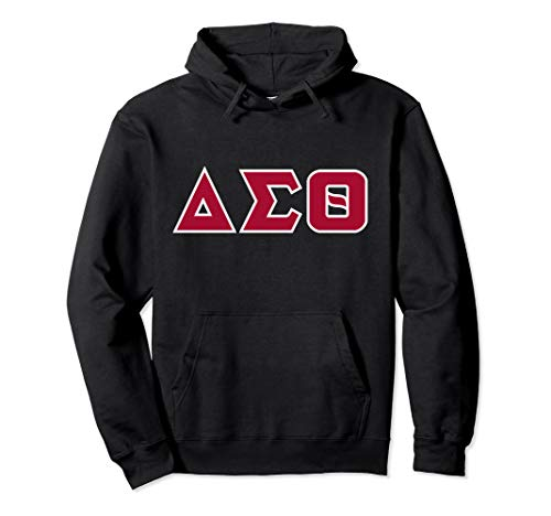 Greek letters - Delta, Sigma, and Theta Pullover Hoodie