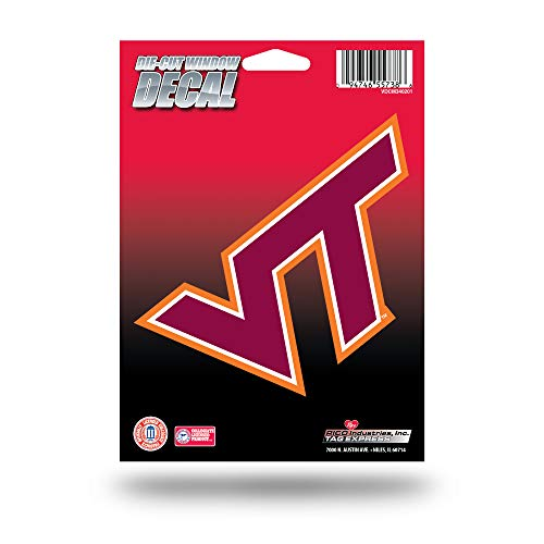 (NCAA Virginia Tech Hokies Die Cut Vinyl Decal)