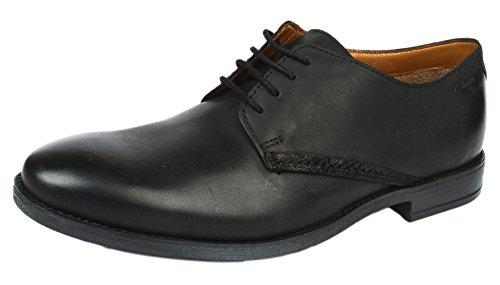 ClarksNovato Plain - Scarpe stringate Uomo Nero (Black Leather)
