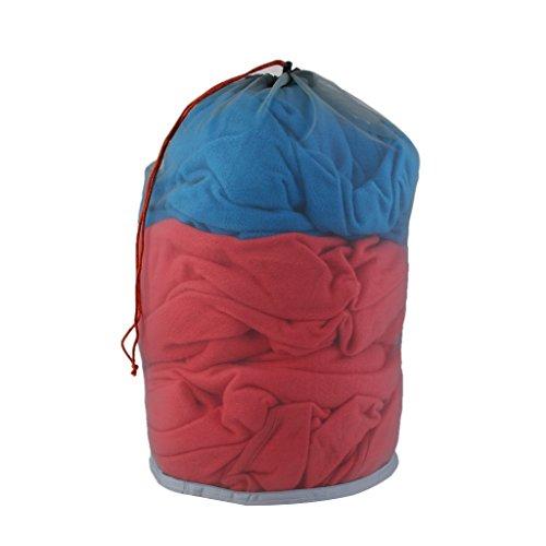 Ultra Light Mesh Stuff Sack Storage Bag for Tavel Camping 18.9 x 18 inch