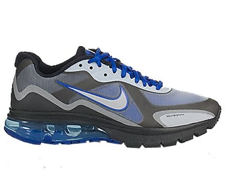 Nike Air Max Alpha 2011+ Mens Running Shoe [454347-401] Drenched Blue/Metallic Silver-Black Mens Shoes 454347-401 Drenched Blue/Metallic Silver-black outlet choice vvtZEUCba