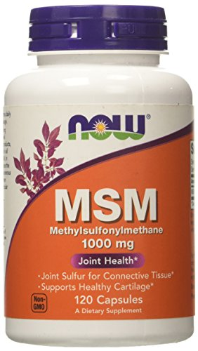 NOW Foods MSM 1000mg, 120 Vcaps
