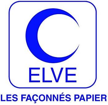 ELVE LV2662 Bloc Audit Comptable 6 Colonnes Bleu