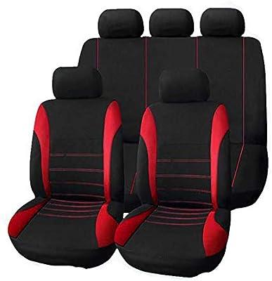 Window-pick 9PCS Universal Car Seat Covers Fabric Car Seat Covers at All Seasons