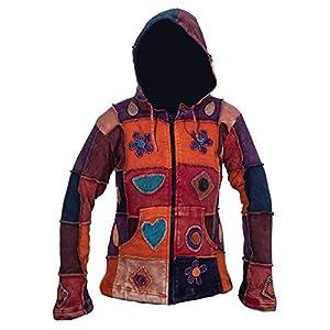 Ezhippie Chaqueta con capucha bordada para mujer | DeHippies.com