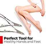 Titania Solingen Cuticle Nipper with Protection Cap