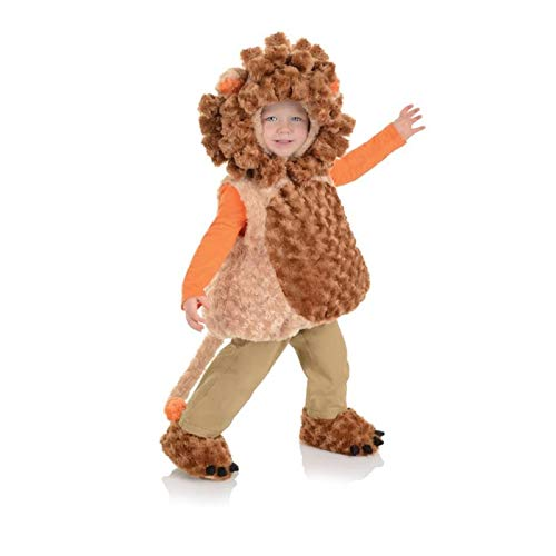 Underwraps Toddler's Lion Belly Babies Costume, Tan/Brown, Extra Large (4-6) ()
