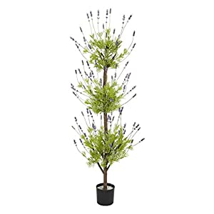 4 ft. Lavender Topiary Silk Tree 98