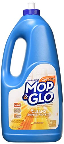 - Mop & Glo Professional Multi-Surface Floor Cleaner, Fresh Citrus Scent 64 oz