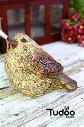 Rabbit pocket pocket outside the single American country stoneware bird ornaments garden decorative pieces solitary