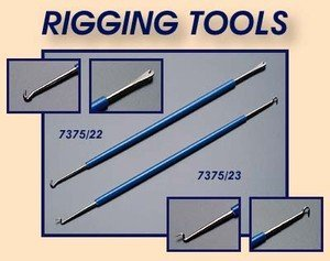 Rigging Tools X 2 For Wooden Model Ship Building Stick String Models