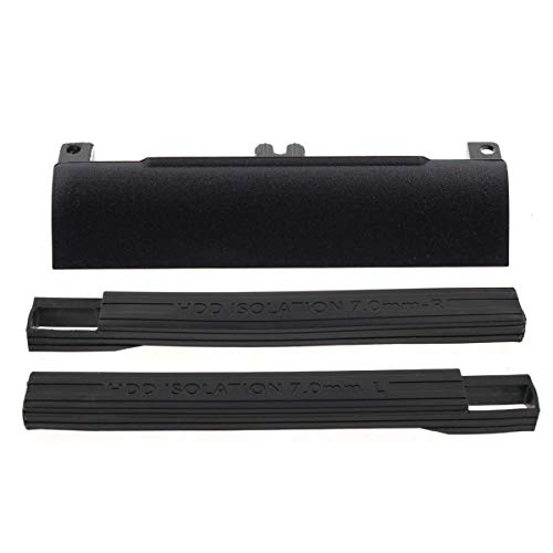 AUTOKAY Hard Drive Caddy Cover with 7mm Rubber Rails for Dell Latitude E6330 E6430 E6530