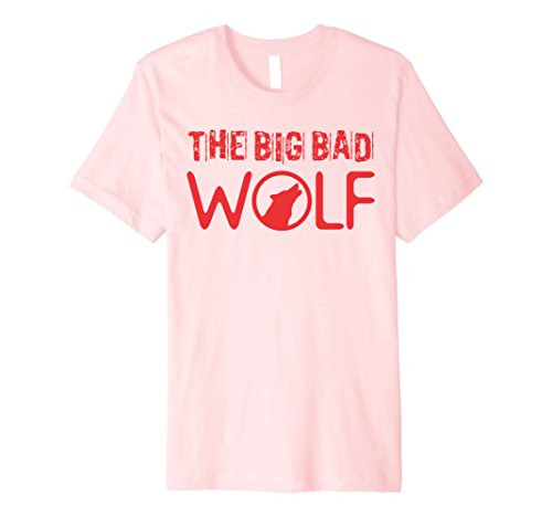 [Mens Wolf (Big and Bad) Gift Halloween Costume Idea A-Type Medium Pink] (Two People Costume Ideas)