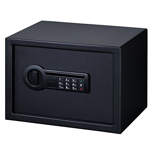 Stack-On PS-1514 Personal Safe with Electronic Lock, Black
