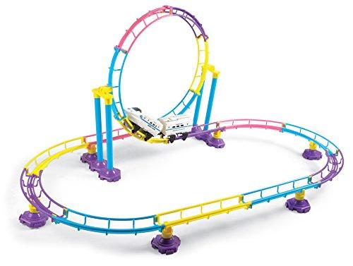 PowerTRC® High Speed Roller Coaster Bullet Train Toy Buildi
