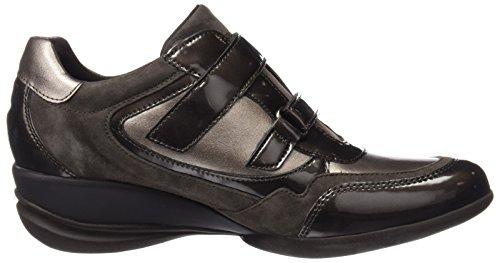 Geox D Persefone a, Zapatillas para Mujer, Braun (Lead/CHESTNUTC9H6J), 36 EU