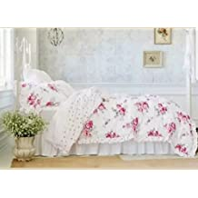 Simply Shabby ChicR Sunbleached Floral 3 Piece Comforter Set KING