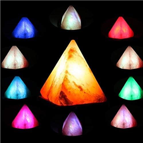 Triángulo USB Himalaya Lámpara de sal Tallado a mano Purificador ...
