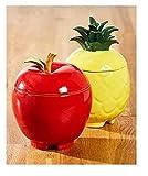 Trenton Gifts Stoneware Fruit Fly Traps | Apple Design