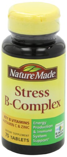031604027254 - Nature Made Stress B Complex with Zinc Tablets, 75 Count carousel main 8