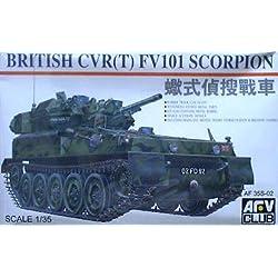 AFV Club 1/35 FV101 Scorpion reconnaissance tanks Plastic
