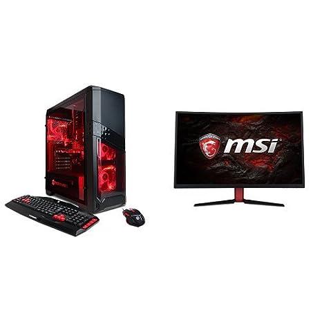 Amazon.com: Computadora de escritorio para jugadores Gamer ...
