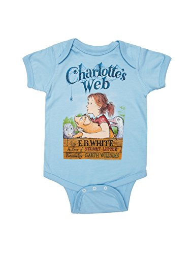Out of Print Charlotte's Web Baby Bodysuit 6 Months
